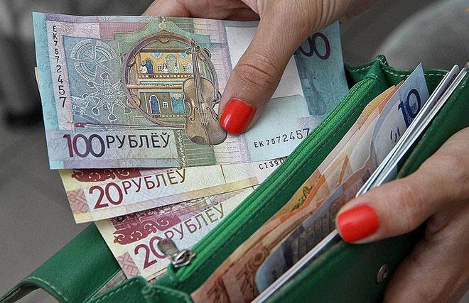 Рубли в Беларуси
