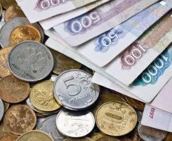 Бумажные деньги и монеты в РФ