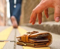 Можно ли брать себе найденные деньги