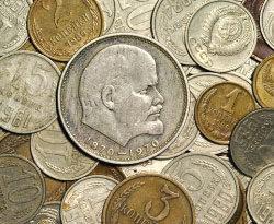 Куда можно сдать старые монеты и банкноты времен СССР за деньги